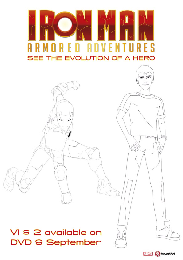 how to draw an armoured man