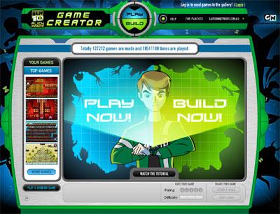 Design   House Online on Ben 10  Alien Force Game Creator