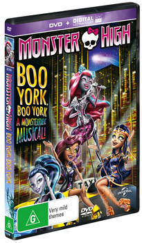 monster high: boo york, boo york dvds