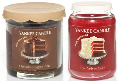 Yankee Candle Cake Images : Red Velvet Cake and Chocolate Layer Cake Yankee Candle
