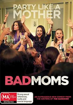 Bad Moms DVD