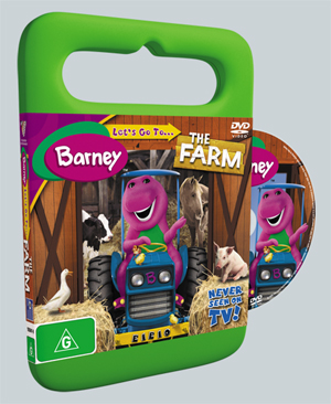 Barney Goes To The Farm Dvd