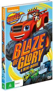 Blaze And The Monster Machines Blaze Of Glory A Mini Movie Dvd