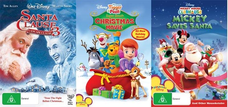 The Santa Clause 3, My Friends Tigger & Pooh & Mickey Saves Santa