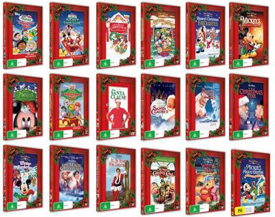 Disney Christmas DVDs | Female.com.au