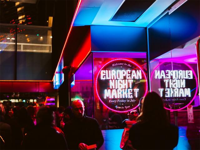Madame Brussels Lane European Night Market