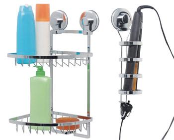 Everloc Bathroom Suction Accessories | Female.com.au