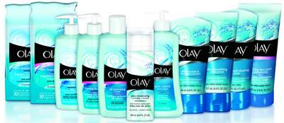 Olay Cleansers Range and Complete Products