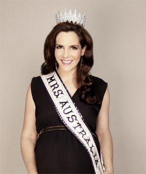 Mrs Australia Piper O'Neill Loves Post-Baby Body Interview