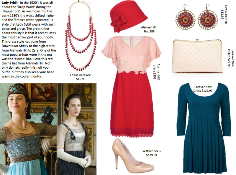 Donny Galella Downton Abbey Fashion Interview