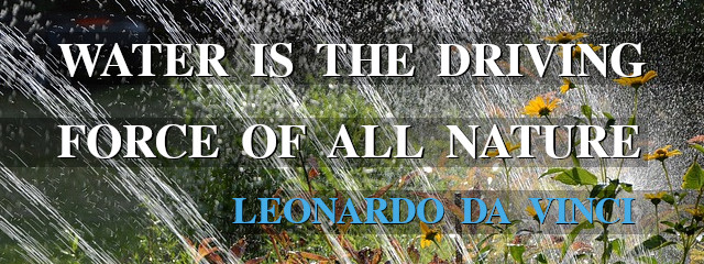 Water is the driving force of all nature. - Leonardo - da Vinci
